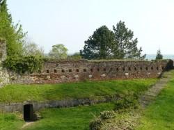 les remparts de la citadelle.
