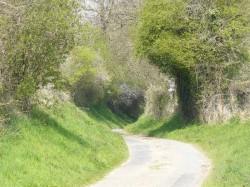 Les petites routes encaissées.