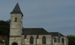 L'église d'Acq.
