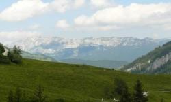 Le massif du Mont Blanc.